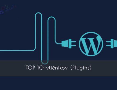 TOP 10 vtičnikov (Plugins)