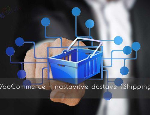 WooCommerce – nastavitve dostave (Shipping)